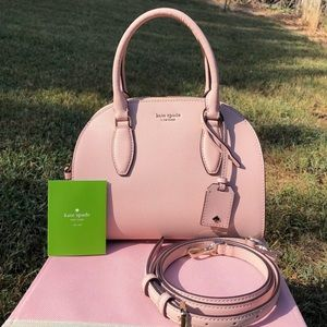 Kate Spade Pink Small Reiley Dome Satchel